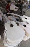 Fabbricazione della chitarra Immagine Stock