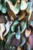 Fabbricazione della scarpa immagini stock libere da diritti
