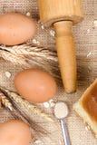 Fabbricazione della serie 014 del pane Immagini Stock