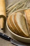 Fabbricazione della serie 029 del pane fotografia stock