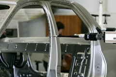fabbricazione delle automobili Immagine Stock Libera da Diritti
