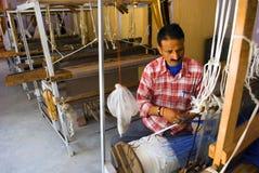 Fabbricazione dello scialle Fotografia Stock Libera da Diritti
