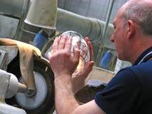 Fabbricazione di cristallo Immagini Stock Libere da Diritti