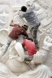 Fabbricazione di Ganesha Fotografia Stock