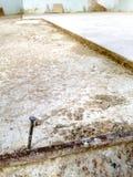 Fabbricazione domestica, ponente mattonelle Fotografia Stock