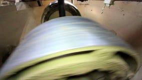 Fabbricazione i mattoni e dei blocchi video d archivio
