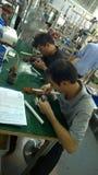 Fabbricazione a Shenzhen, Cina Fotografia Stock