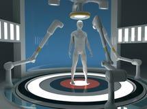 Fabbricazione umana del clone illustrazione di stock