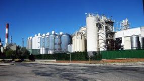 Fabbriche Burgos, Spagna fotografie stock libere da diritti