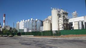 Fabbriche di Burgos, Spagna fotografia stock libera da diritti