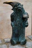 Fabbro Dwarf, Kowal Wroc?aw Fotografia Stock