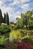 Fabelachtig park-tuin Sigurta Royalty-vrije Stock Foto