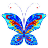Fabelachtige vlinder Royalty-vrije Stock Foto
