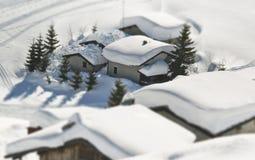 Fabelhafte Häuser Lizenzfreies Stockfoto