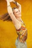 Fabelhafte vierzig Einjahresfrau Stockbilder