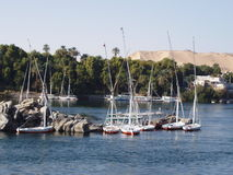 Fabelhafter Aswan Stockfoto