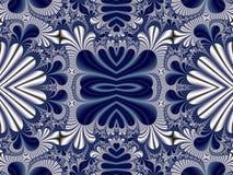 Fabelhaftes symmetrisches Muster für Hintergrund Sammlung - Magica Stockbilder