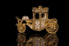 Faberge carriage. Royalty Free Stock Photography