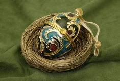 Faberge Egg stock photo