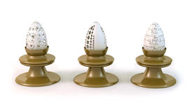 Faberge eggs Stock Image