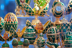 Faberge style Eggs Royalty Free Stock Photos