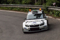 Fabia R5 Royalty Free Stock Images