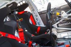 Fabia S2000 race car Stock Image