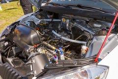 Fabia S2000 race car Royalty Free Stock Photo