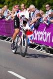 Fabian Cancellara,汉普顿法院 图库摄影