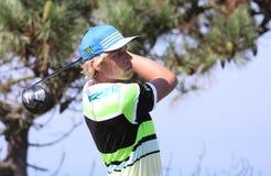 Fabien Marty bij de het golfuitdaging 2013 van Pleneuf Val Andre Royalty-vrije Stock Afbeelding