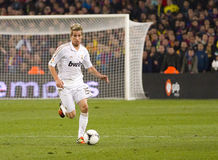 Fabio Coentrao of Real Madrid Stock Photography