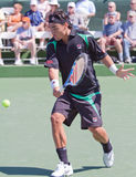 Fabio Fognini at the 2010 BNP Paribas Open Stock Photo