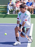 Fabio Fognini at the 2010 BNP Paribas Open Stock Image