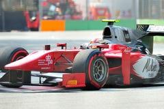Fabio Onidi участвуя в гонке в Сингапур GP2 2012 Стоковые Изображения