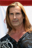 Fabio at a public appearance to promote the Epic Old Spice Challenge Royalty Free Stock Images