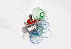 Fablab и печатание 3D Стоковое Изображение