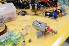 Fablab и печатание 3D Стоковые Изображения RF
