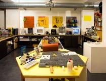 Fablab и печатание 3D Стоковое фото RF