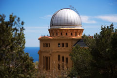 Fabra Observatory in Barcelona Royalty Free Stock Photo