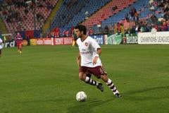 Fabregas. Francesc Fabregas playing at Steaua Bucharest - Arsenal London match Royalty Free Stock Photo