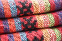 Fabric. With oriental features colorful fabric Royalty Free Stock Photography
