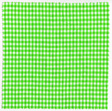 Fabric. Green checked fabric cloth background Stock Photo