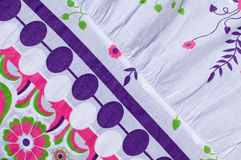 Fabric with abstract background Stock Image