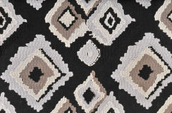 Fabric with abstract grid Stock Image