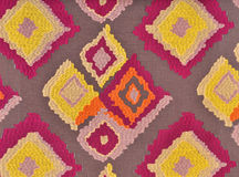 Fabric with abstract grid Royalty Free Stock Images