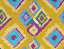 Fabric with abstract grid Royalty Free Stock Photo