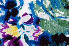 Fabric with abstract pattern, a background Stock Photography