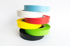 Fabric adhesive tape Royalty Free Stock Images