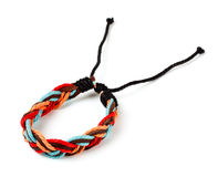 Fabric arm bracelet Royalty Free Stock Photo