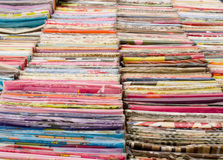 Fabric assorted Royalty Free Stock Photo